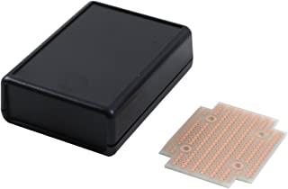 BusBoard Prototype Systems KIT-1593P Box+PCB, Black ABS Plastic Box with Batt. Compartment, with PR1593P PCB, Box = 3.6 x 2.6 x 1.1 in