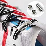 XCY Elásticos Cordones De Los Cordones Magnético Cordones De Silicona para Todas Las Zapatillas Los Zapatos Planos para Niños Y Niñas