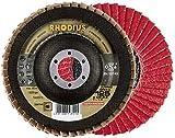 Rhodius 208744 Rhodius JUMBO SPEED Fächerscheibe 115 x 22,23 - P60 Durchmesser 115 mm 1 St.