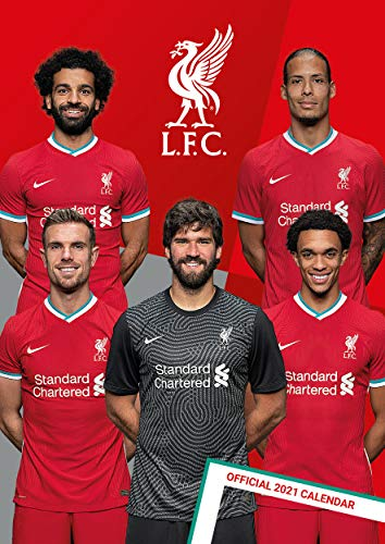 Liverpool FC 2021 Calendar - Official A3 Wall Format Calendar
