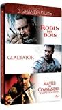 Russell Crowe-3 Grands Films : Robin des Bois + Gladiator + Master and Commander [Édition Collector boîtier SteelBook]