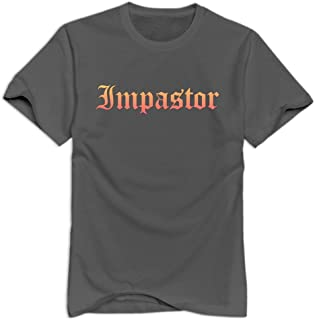 Imposter Nerd Casual DeepHeather T Shirts For Adult Size S