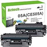 Aztech Compatible Toner Cartridge Replacement for HP CE505A 05A HP Laserjet...