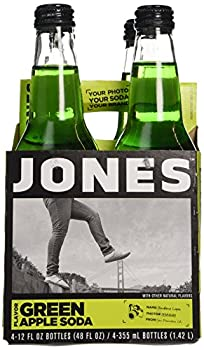 Jones Soda Green Apple 12 Fl Oz  Pack of 4