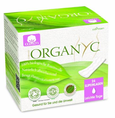 Organyc - Salvaslip - 100% Algodón Biológico - 4 x 24