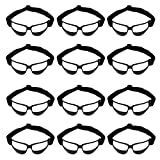 Murray Sporting Goods Basketball Dribble Goggles - Pack of 12 | Adult or Youth Glasses for Basketball Dribbling Training