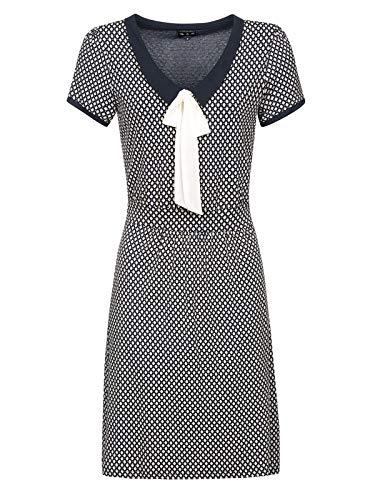 Vive Maria Seatown Dress Blue Allover, Größe:XL