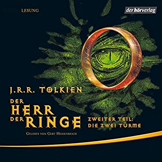 Die zwei Türme     Der Herr der Ringe 2              By:                                                                                                                                 J.R.R. Tolkien                               Narrated by:                                                                                                                                 Gert Heidenreich                      Length: 18 hrs and 47 mins     1 rating     Overall 5.0