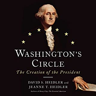 Washington's Circle audiobook cover art