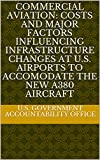 Commercial Aviation: Costs and Major Factors Influencing Infrastructure Changes at U.S. Airports to Accomodate the New A380 Aircraft (English Edition)