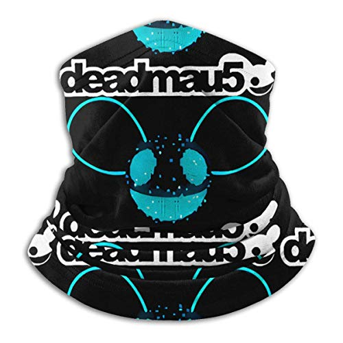 ghjkuyt412 Deadmau5 Face Mask Multifunctional Snood Outdoor Warmer Scarf Neck for Men and Women