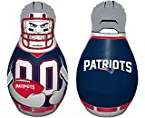 "Fremont Die NFL New England Patriots Bop Bag Inflatable Tackle Buddy Punching Bag, Standard: 40"" Tall, Team Colors"