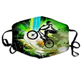 eneric Reusable Face Shield Mouth BMX Rider-Jvgd268