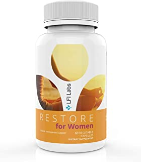 Menopause Relief Support Supplement for Women - Black Cohosh, Dong Quai, Soy Isoflavones, Red Clover - Estrogen Metabolism...