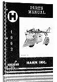 Misc. Tractors Hahn Hi-Boy H-188 (1961) Operators Manual