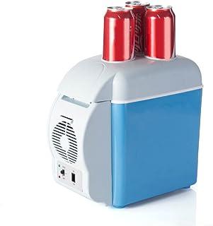 Farbe : Blau LYN Tragbarer 10-Liter-Kompressor-K/ühlschrank mit Gefrierfach 220 V f/ür Auto und Haushalt 12 V