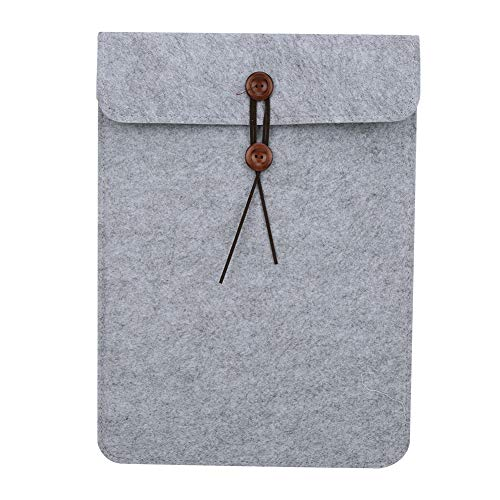Laptophoes, 15-inch enkellaagse laptop zachte viltzak Duurzame zakelijke mode-tablet Beschermhoes