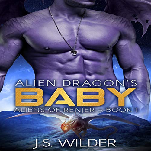 Alien Dragon's Baby audiobook cover art