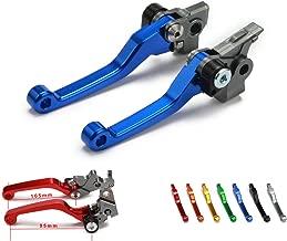 Billet Pivot Foldable Clutch Brake Lever For Honda XR250 Motard 95-07 CRM250R CRM250AR 94-99 XR400 Motard 05-08 Motorcycle Dirt Bike Blue
