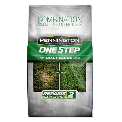 Pennington 100522284 One Step Complete Bare Spot Repair Grass Seed Mix For Tall Fescue Areas, 8.3 lb
