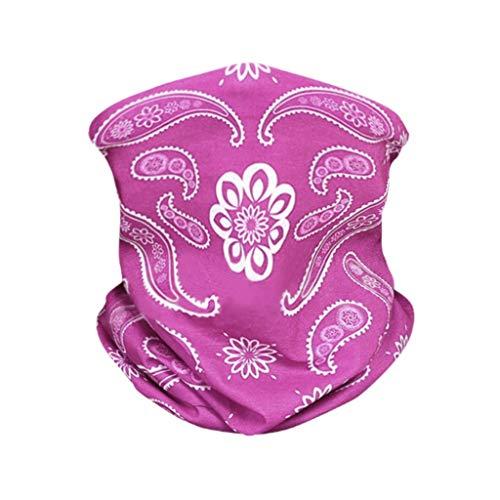 FRAUIT Multifunctionele doek voor biker, bandana, outdoor, naadloos, winddicht, zonwering, bandana, slang, hoofdband, bikerdoek, dames en heren, sneldrogend