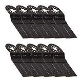 10 KROP Multifunción Hoja de Sierra Estándar de 35mm Madera, para Bosch Fein MultiMaster Einhell...