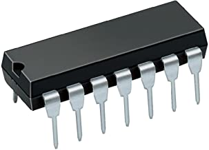 10 pcs of 74LS00 SN74LS00N 7400 Quad 2-Input NAND Gate IC / Integrated Circuit