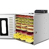 BMGAINT フードドライヤー 8層 24時間タイマー 30~90°C智能温度設定 果物と野菜の食品乾燥機 業務用 家庭用