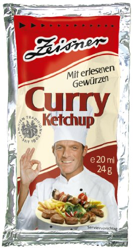 Zeisner Curry-Ketchup 250 Portionen á 20ml/24g, 1er Pack (1 x 20 ml)