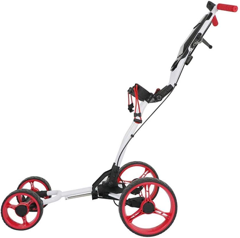 DWXN 4 Wheel 2021 Golf Club Max 68% OFF Trolley Ultra Compact Lightweight