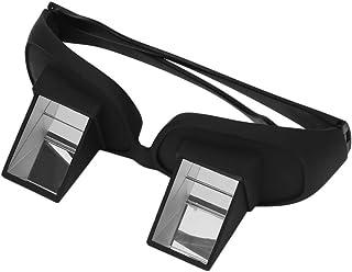 Fascigirl Gafas Horizontales, Cama Gafas Periscopio Lectura Acostado Ver TV Gafas de Alta Definición