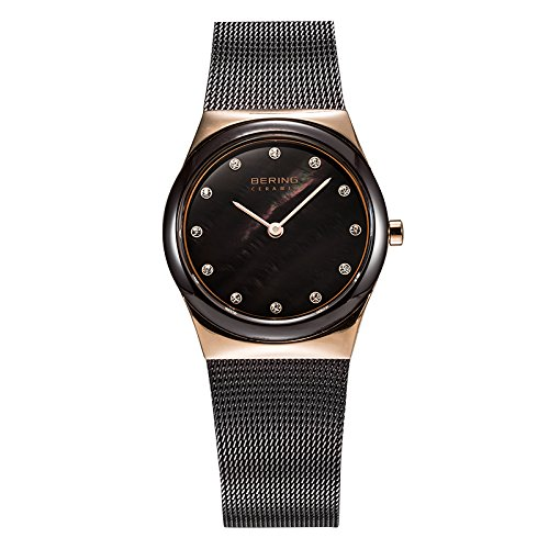 BERING Reloj Analógico para Mujer de Cuarzo con Correa en Acero Inoxidable 32230-262