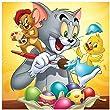 5D Tom und Jerry Diamond Painting Kits für Erwach
