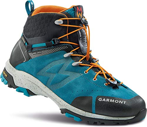 GARMONT G-Trail Mid GTX Wanderschuhe Herren Blue/orange Schuhgröße UK 8 | EU 42 2021