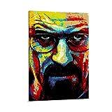 LOPIU Breaking Bad Heisenberg TV-Show, abstraktes
