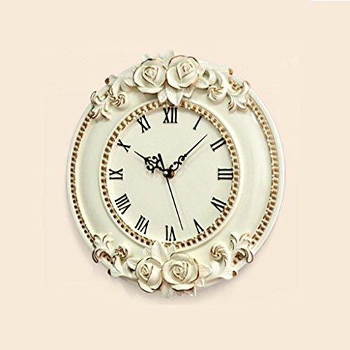 WALL CLOCK 12 Pouces Haut de Gamme de la Créativité Artistique personnalité muet Salon Mur d'horloge
