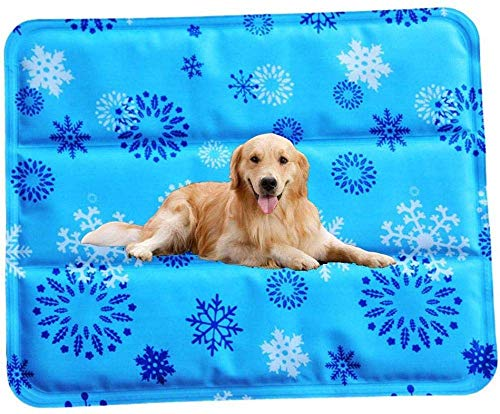 Hexiao Pet bed Summer Cooler Pad Dog Gel Cooling Mat Water Droplets Ice Mat Pet Mattress Cushion for Small Puppy Dogs And Cats(1Pcs) xiao1230