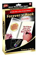 As Seen on TV Forever Book Reusable Whiteboard Notebook (FB-MC12) by As Seen On TV [並行輸入品]