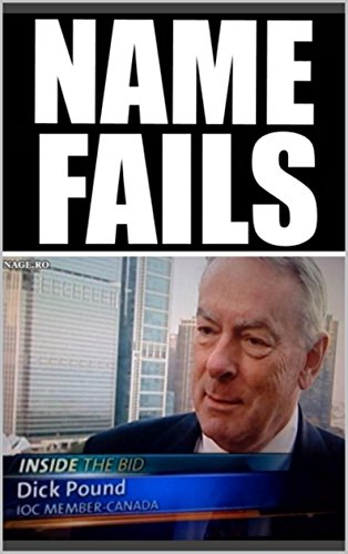 EPIC NAME FAILS: Awesome Meems Book With Crazy Named Fools and Much More - Joke Books (English Edition)