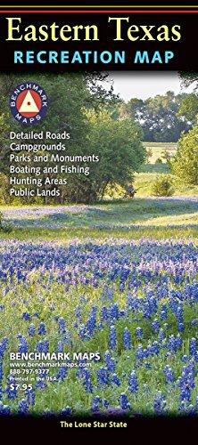 Texas East Recreation Map (Benchmark Maps)