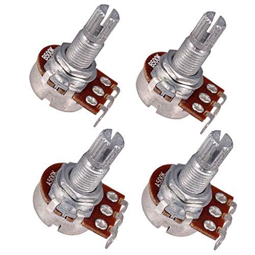 4er pack Potentiometer 500K Ohm Push Pull Gitarre Potentiometer für E-Gitarre