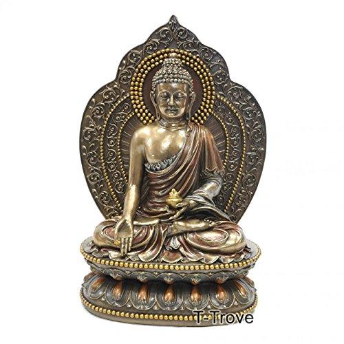 T-Trove Cold Cast Bronze Medicine Buddha Statue Figurine
