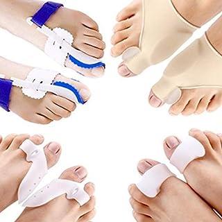 8PCS Corrector de dedo del pie del corrector del juanete Est