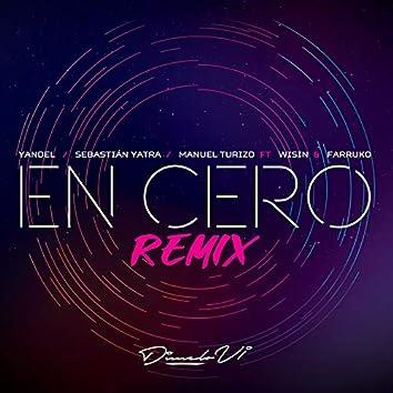 En Cero (Remix)
