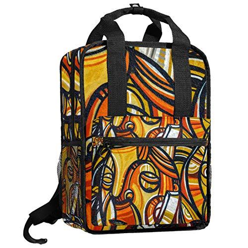 AITAI Art Graffiti - Mochila para adolescentes, universidad, bolsa de viaje
