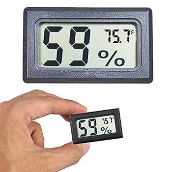 Goabroa Mini Hygrometer Thermometer Digital Indoor Humidity Gauge Monitor with Temperature Meter Sensor Fahrenheit  ℉