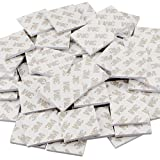CBTONE 100 PCS Double Sided White Foam Tape Strong Pad Mounting Adhesive Stickers, Square