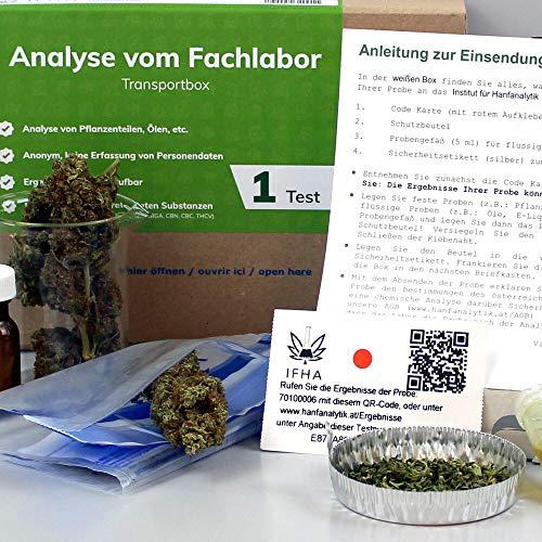 Cannabis THC CBD Hanfanalyse für...