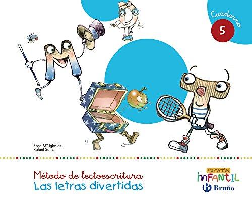 Las letras divertidas Pauta Cuaderno 5 - 9788469611463