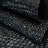 ZXC Mantel De Mesa Mantel Cuadrado Cubierta 150 cm de Ancho De Mesa Cuadrada PequeñA para Hogar Cocina Cena Navidad Comedor 1m a la Venta(Color:Negro)